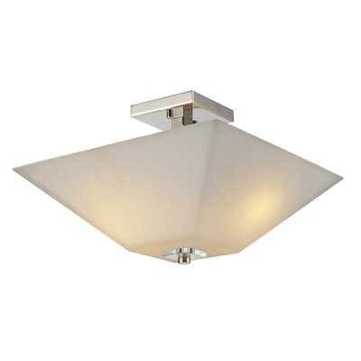 Z-Lite Zen 2 Light Semi-Flush Mount