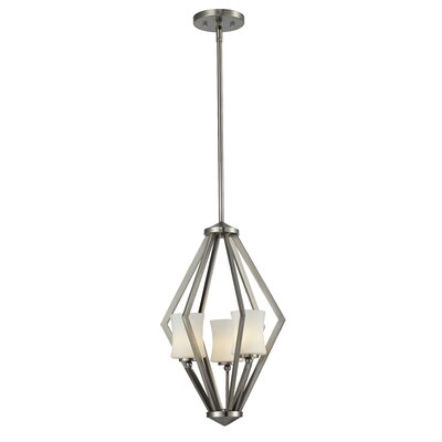 Z-Lite Elite 3 Light Foyer Pendant