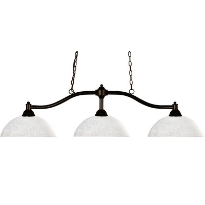 Z-Lite Chance 3 Light Billiard Pendant