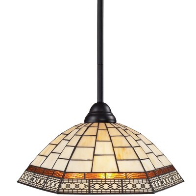 Riviera 1 Light Billiard Pendant