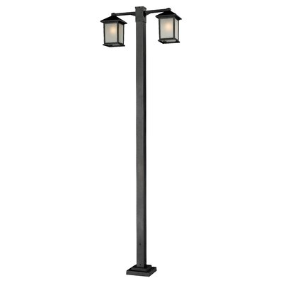 "Z-Lite Holbrook 2 Light 112.75"" Outdoor Post Lantern Set"