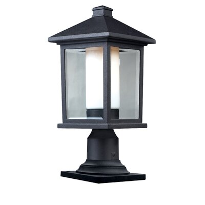 Z-Lite Mesa 1 Light Post Lantern