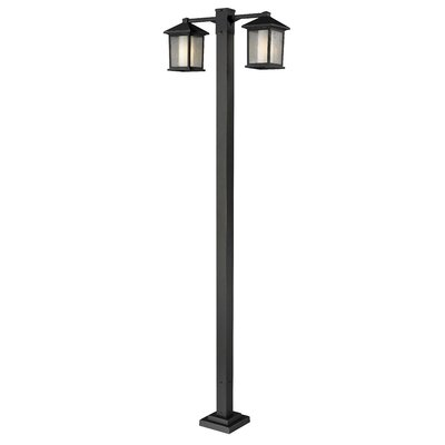 "Z-Lite Mesa 2 Light 112.75"" Outdoor Post Lantern Set"