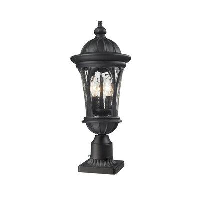 Z-Lite Doma 4 Light Outdoor Post Lantern Set