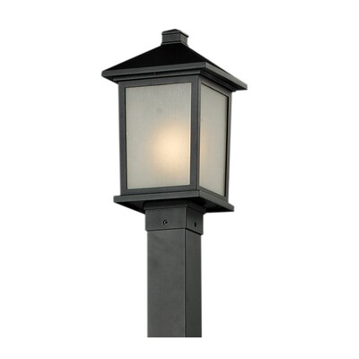 Z-Lite Holbrook 1 Light Post Lantern Set