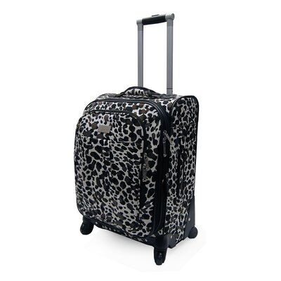 Nicole Miller Expandable Carry-On Spinner