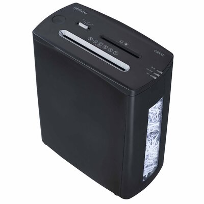 Comet America Paper Shredder 12 Sheet Cross-cut in Black
