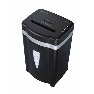Comet America Paper Shredder 12 Sheet Micro-cut in Black