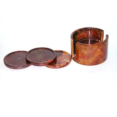 Nature Home Decor Coasters with Holder