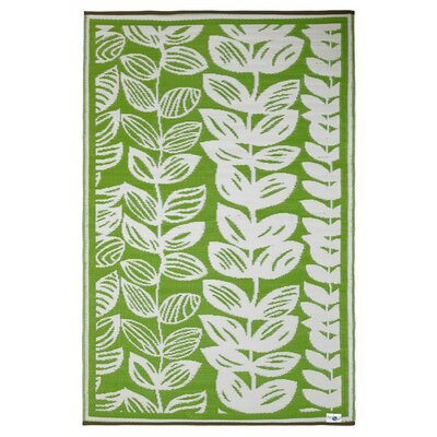 Fab Rugs World Male Cream/Green Rug