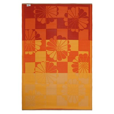 Fab Rugs World Tahiti Orange/Yellow Rug