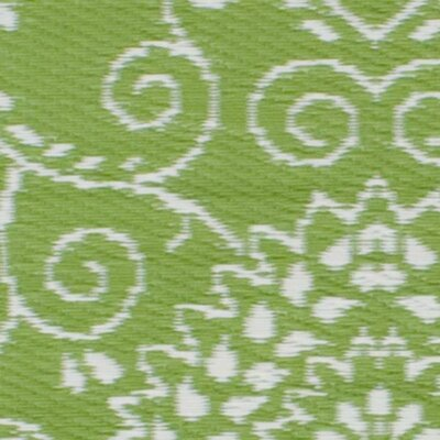 Fab rugs world murano lime green indoor outdoor area rug for Green and cream rugs