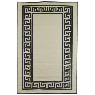 World Athens Black/Cream Rug