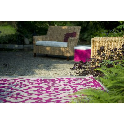 Fab Rugs World Venice Cream/Pink Rug