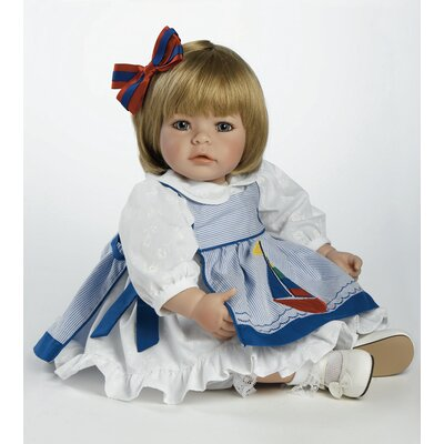 Adora Dolls Pin-a-four Seasons Baby Doll Sandy Blonde Hair / Blue Eyes