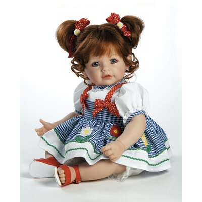 "Adora Dolls Baby Doll ""Daisy Delight"" Red Hair / Blue Eyes"