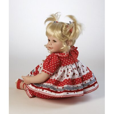 Adora Dolls Baby Doll Ladybug! Ladybug! - Blonde / Green Eyes