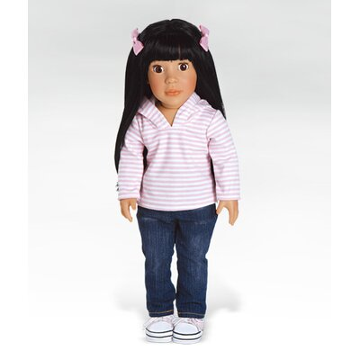 Adora Dolls Girl Play Doll Ava Ready for Fun - Black Brown Eyes