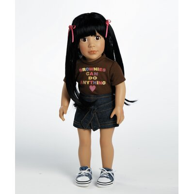 Adora Dolls Play Doll Ava - Girl Scout Brownie Doll and Costume