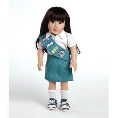 Adora Dolls Play Doll Abigail - Girl Scout Junior Doll and Costume
