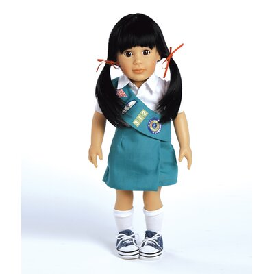 Play Doll Lily - Girl Scout Junior Doll and Costume