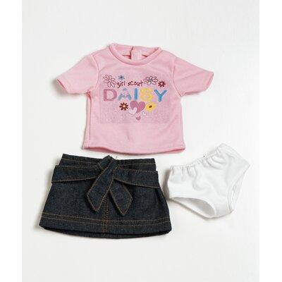 Adora Dolls 18&quot; Doll Clothes - Daisy  T-Shirt / Skirt Set