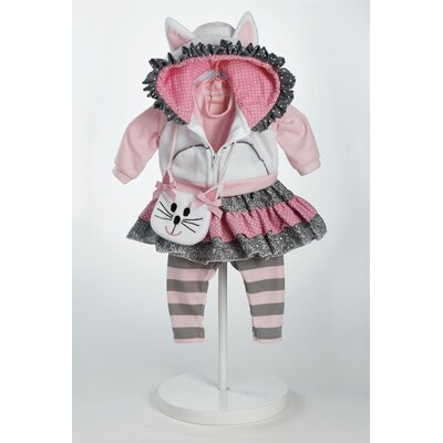 "Adora Dolls 20"" Baby Doll The Cat's Meow Costume"