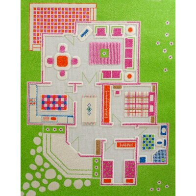 Luca and Company IVI Carpets-Playhouse Kids Rug