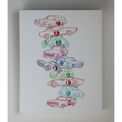 Luca and Company Artwork-123 Cars