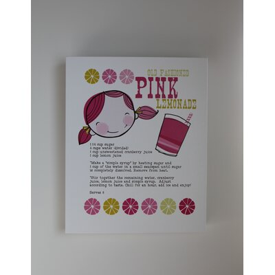 Luca and Company Artwork-Pink Lemon Aid