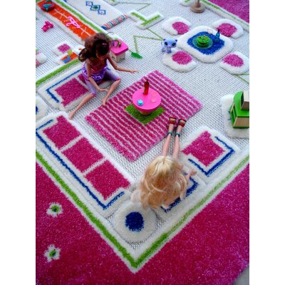 Luca and Company IVI Carpets-Playhouse 3D Play Kids Rug