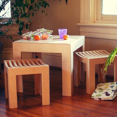 Sodura Cube Kids 3 Piece Play Table