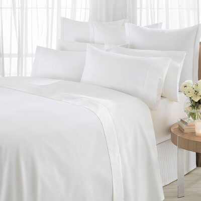 Sheridan 600 Thread Count Egyptian Blended Quilt Cover in White