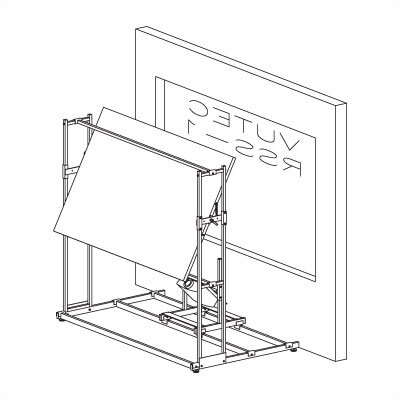 Vutec Retro - Trac: Universal Rear Projection Rail System