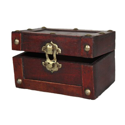 Quickway Imports Small Mini Treasure Chest