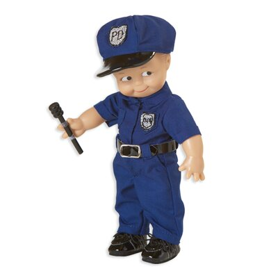 Kewpie Police Officer Doll