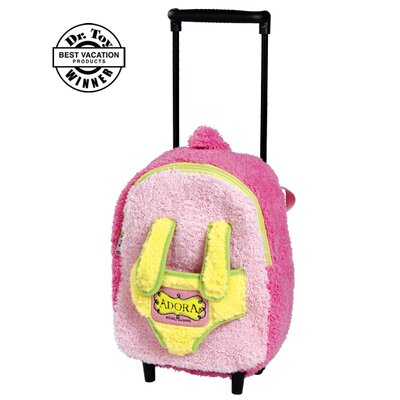 Charisma Adora Playtime Baby Dolls Rolling on Wheels Backpack