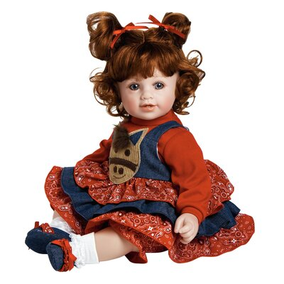 "Charisma Adora ""Giddy Up-Girl"" Doll with Red Hair / Blue Eyes"