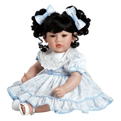 "Charisma Adora ""Little Lady In Blue"" Doll with Black Hair / Brown Eyes"