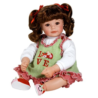 "Charisma Adora ""Love Bug"" Doll with Dark Brown Hair / Brown Eyes"