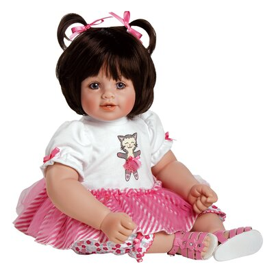 "Charisma Adora ""Purr-Fectly Posh"" Doll with Brown Hair / Blue Eyes"