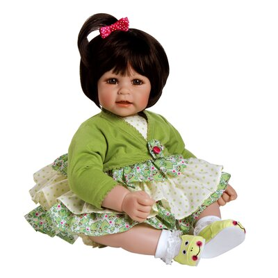 "Charisma Adora ""Fanciful Frog"" Doll with Brown Hair / Brown Eyes"