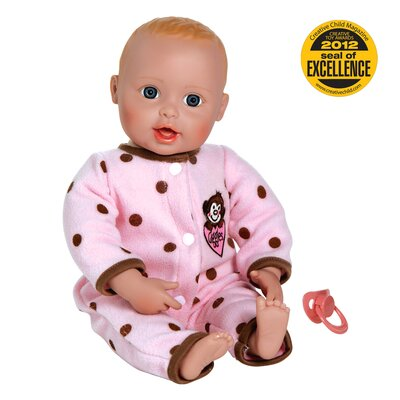"Charisma Adora ""Giggle Time Baby"" Doll with Light Skin Tone/ Blonde Hair/Blue Eyes"