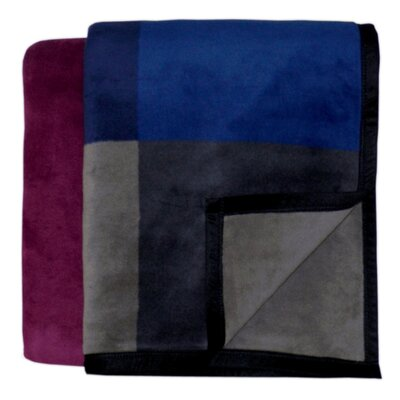 Bocasa Blankets Inspirations Mystic Woven Velvet Throw Blanket