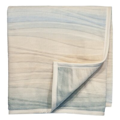 Flow Acrylic Cotton Throw Blanket
