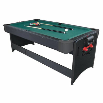 Fat Cat 3-in-1 Black Pockey 7' Game Table