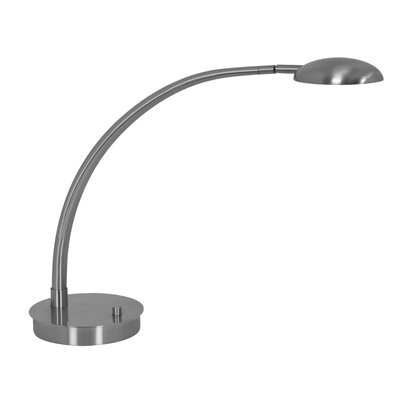 Mondoluz Vital 6.8W Table Lamp in Brushed Platinum
