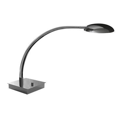 "Mondoluz Vital 18"" Table Lamp in Chromium"