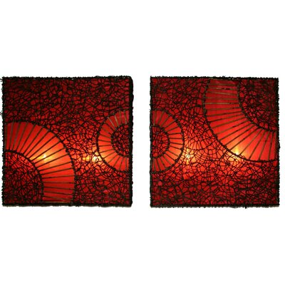 House of Asia Imports Ellie Wall Lamp