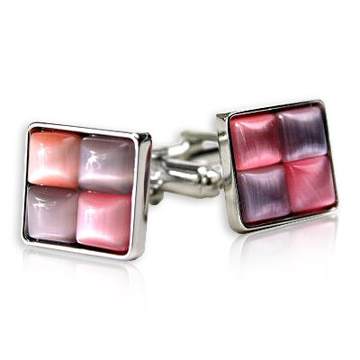 Unique Cufflinks in Pink / Purple